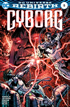 Cyborg (2016-2018) #5