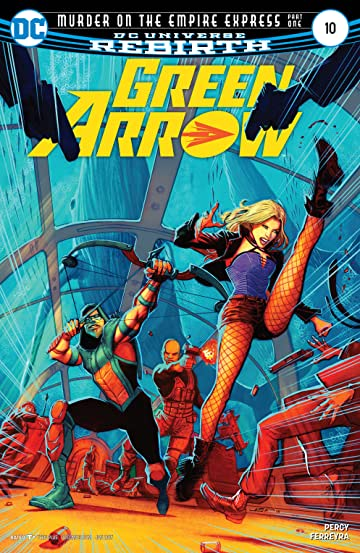 Green Arrow (2016-) #10