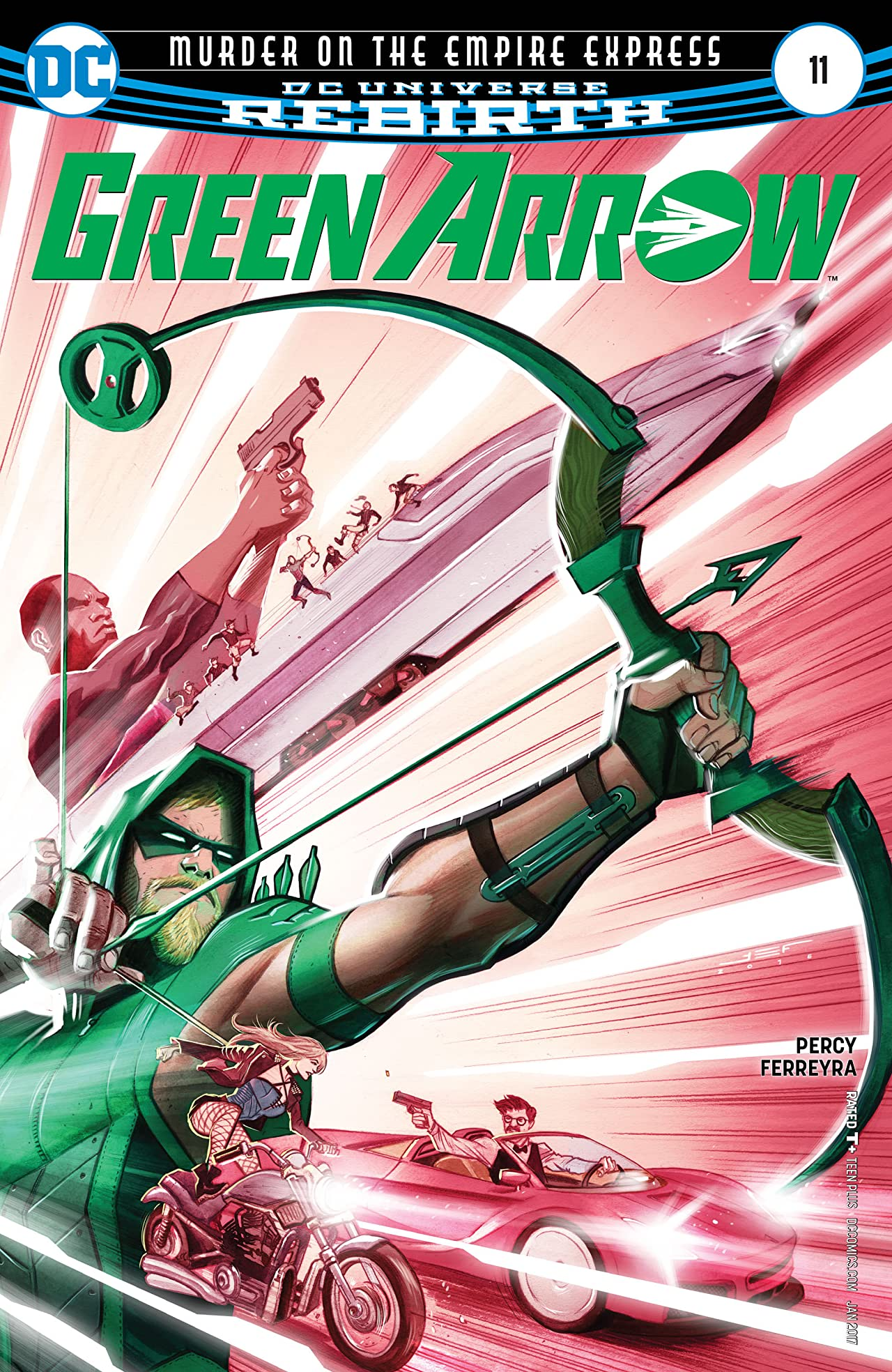 Green Arrow (2016-) #11
