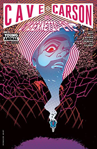 Cave Carson Has a Cybernetic Eye (2016-) #2
