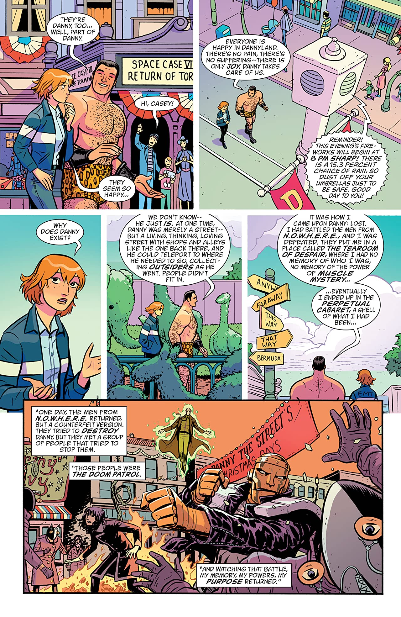 Doom Patrol (2016-) No.3