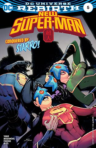 New Super-Man (2016-2018) #5