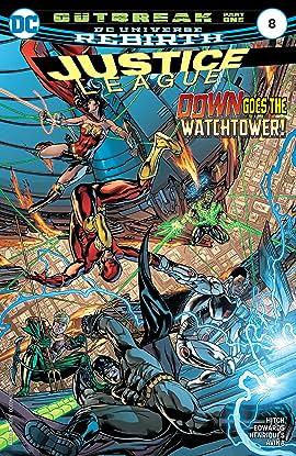 Justice League (2016-2018) #8