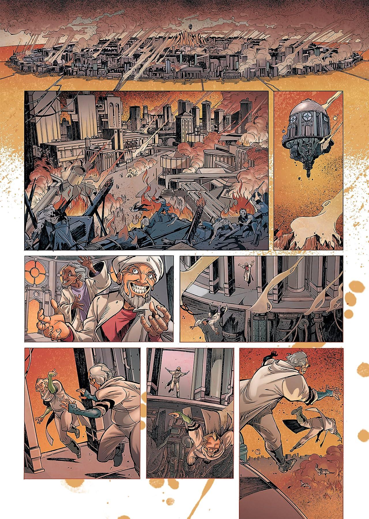 Rétine Vol. 1: Guerilla dans la ville basse