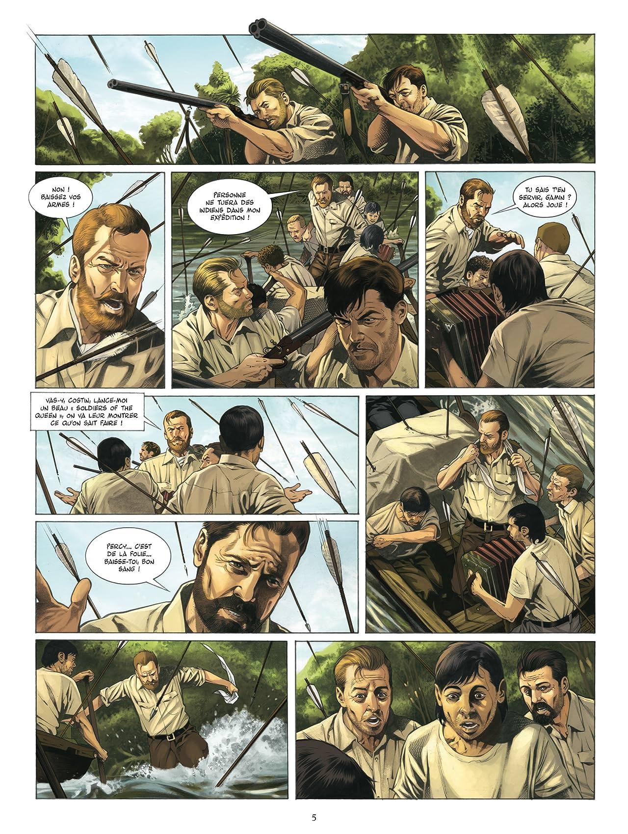 Fawcett Vol. 1: Les cités perdues d'Amazonie