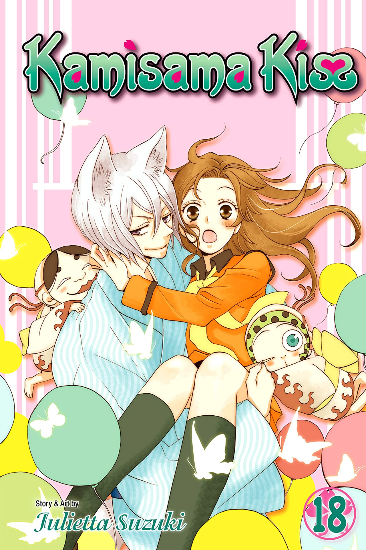 Kamisama Kiss Vol. 18
