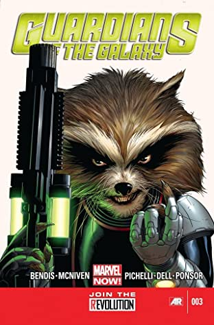 Guardians of the Galaxy (2013-2015) No.3