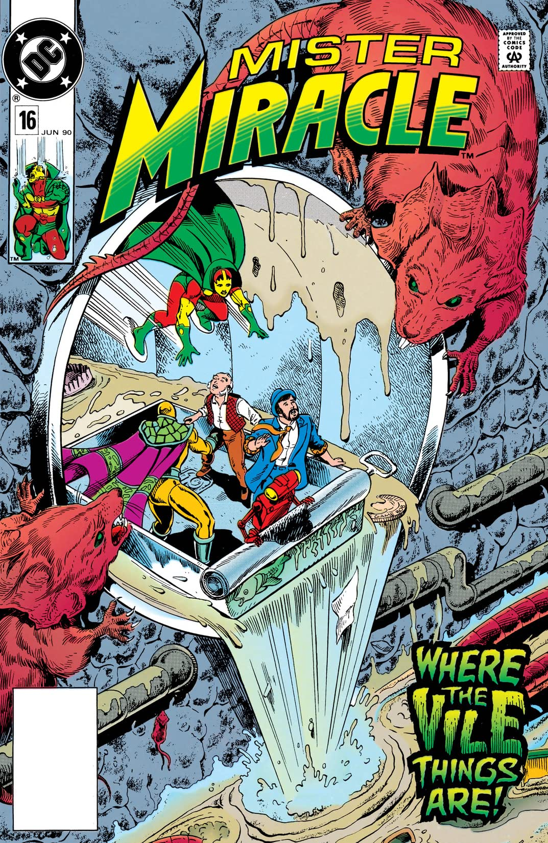 Mister Miracle (1989-1991) #16