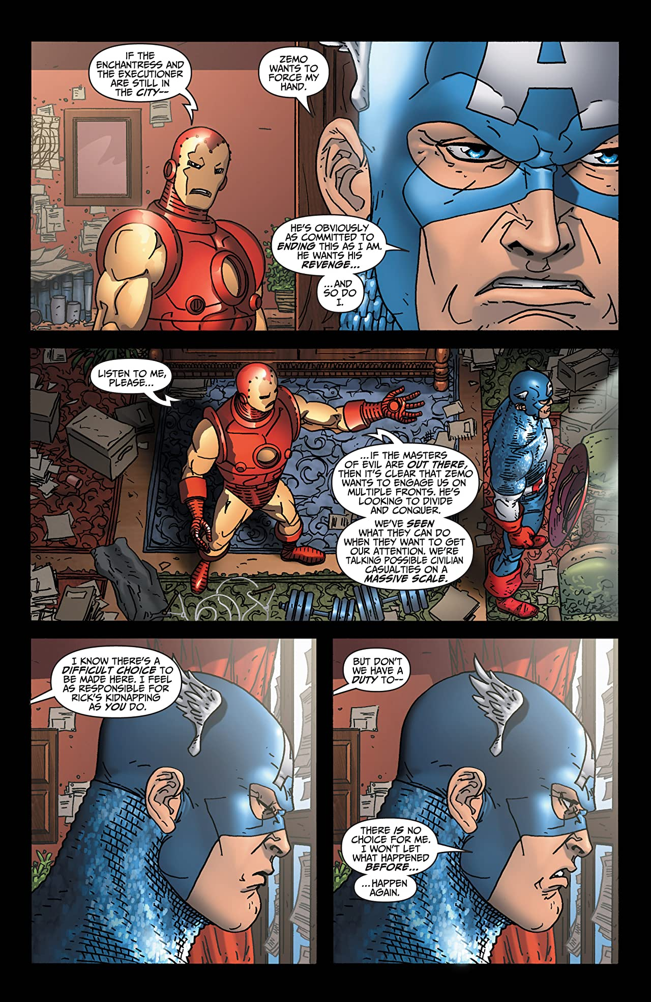 Avengers: Earth's Mightiest Heroes (2004-2005) #6 (of 8)