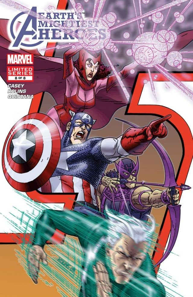 Avengers: Earth's Mightiest Heroes (2004-2005) #8 (of 8)