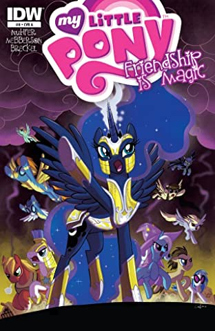 My Little Pony: Friendship Is Magic No.8