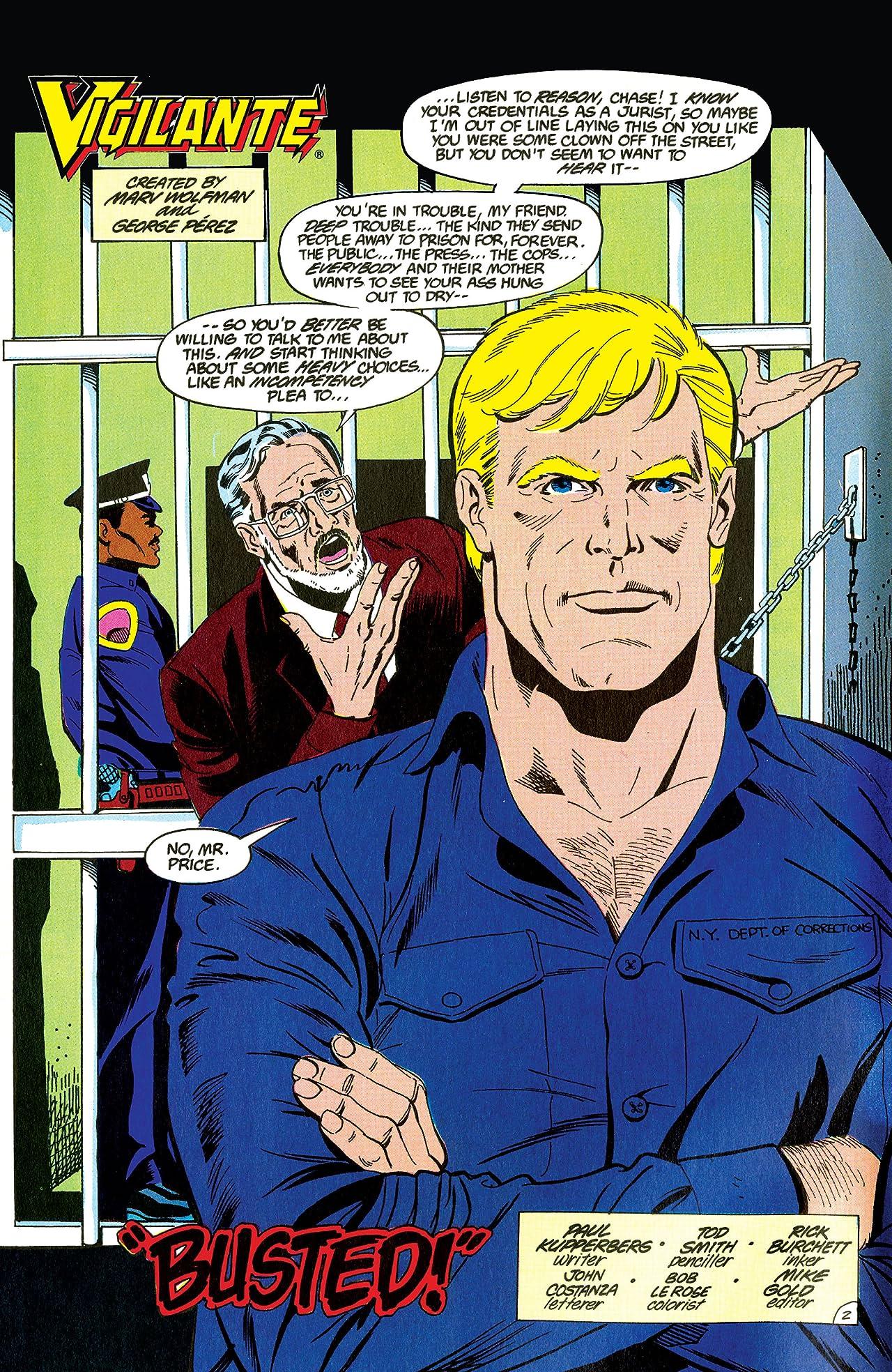 Vigilante (1983-1988) #46