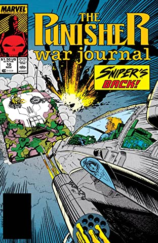 Punisher War Journal (1988-1995) #10