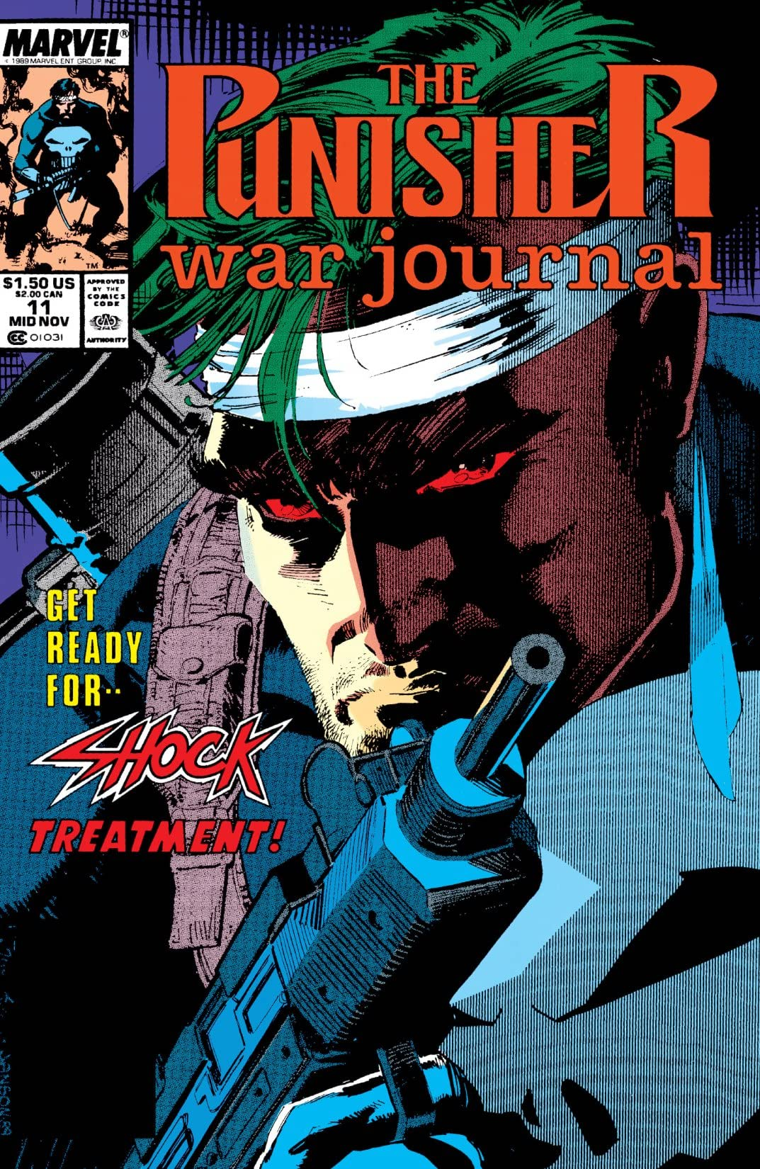 Punisher War Journal (1988-1995) #11