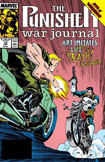 Punisher War Journal (1988-1995) #12