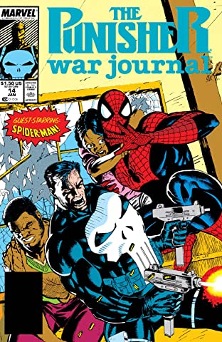 Punisher War Journal (1988-1995) #14