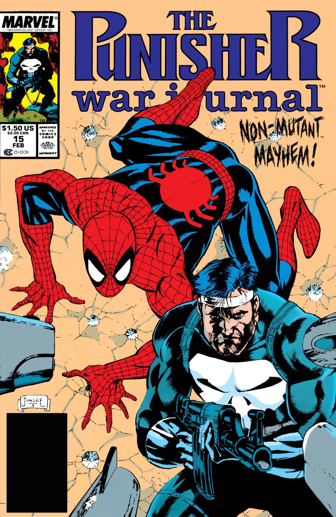 Punisher War Journal (1988-1995) #15