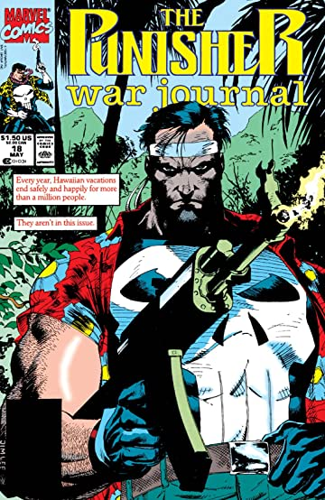 Punisher War Journal (1988-1995) #18