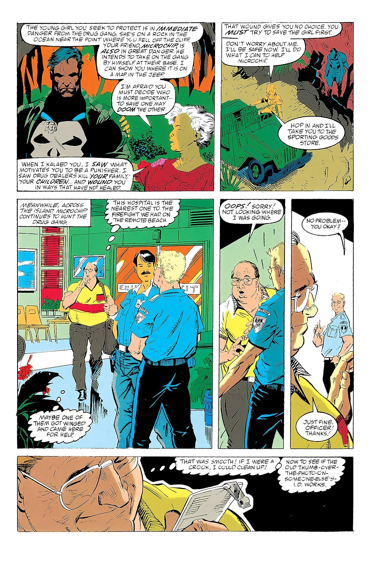 Punisher War Journal (1988-1995) #19
