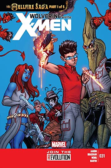 Wolverine and the X-Men #31