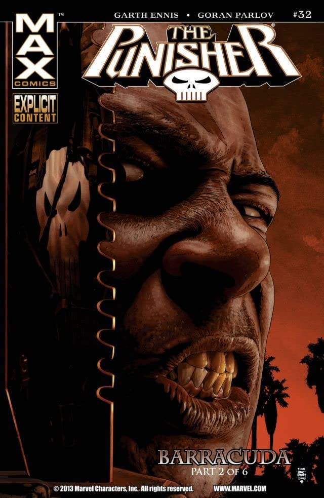 The Punisher (2004-2008) #32