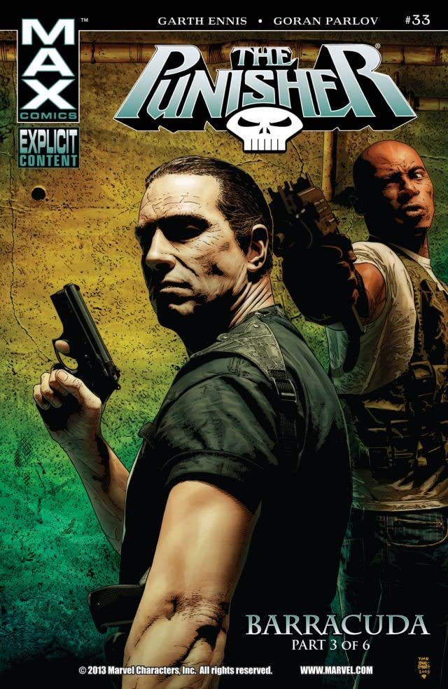 The Punisher (2004-2008) #33