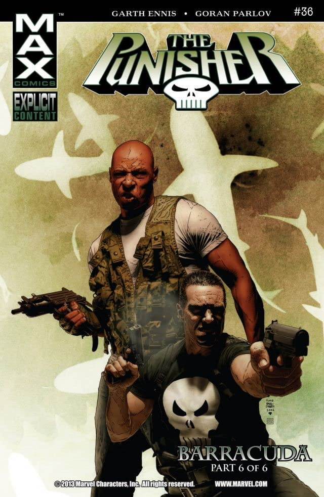 The Punisher (2004-2008) #36