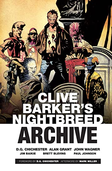 Clive Barker's Nightbreed Archive Tome 1
