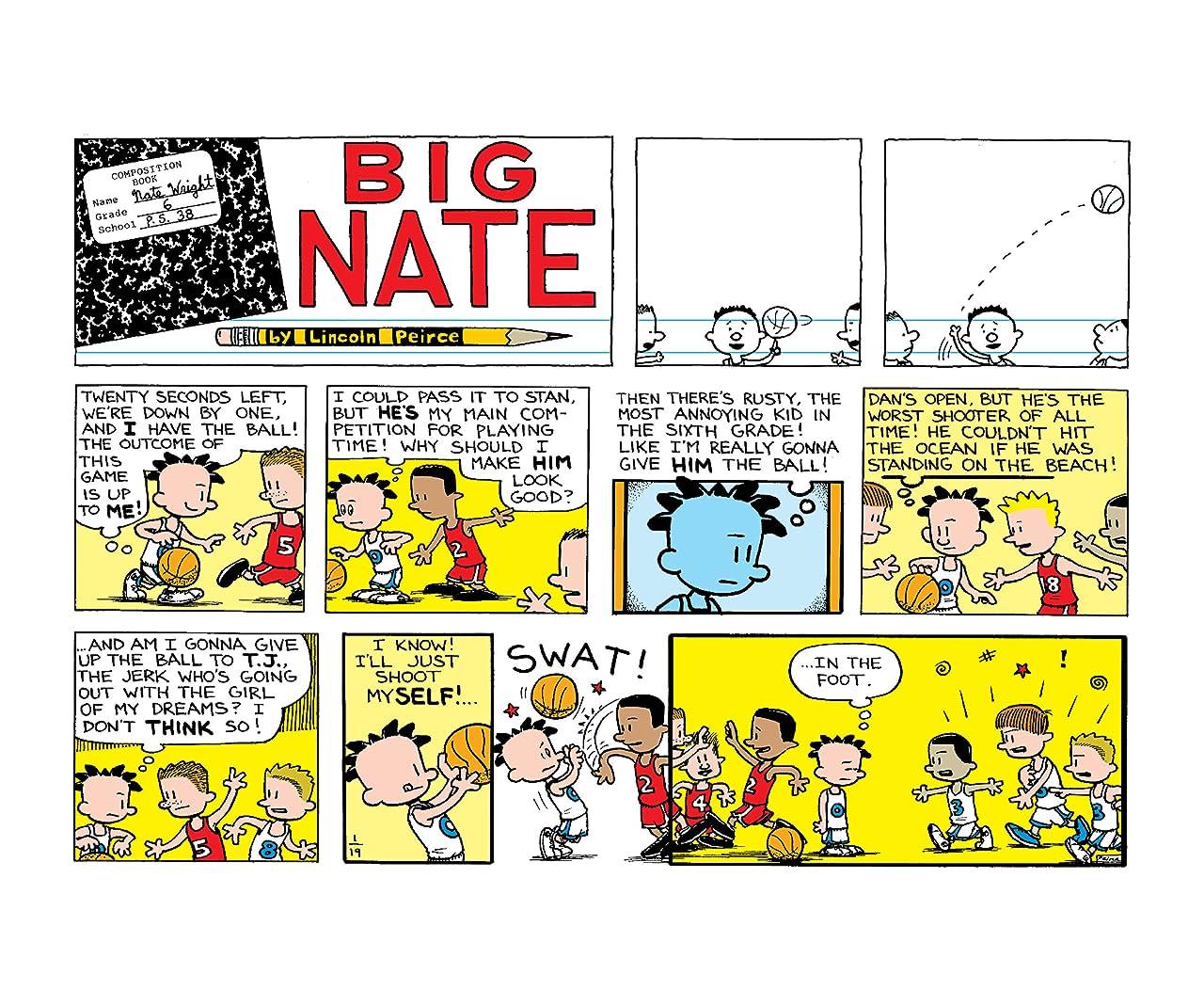 Big Nate Makes a Splash