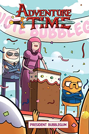 Adventure Time Tome 7: President Bubblegum