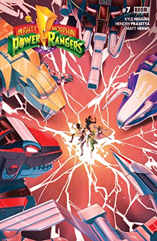 Mighty Morphin Power Rangers No.7