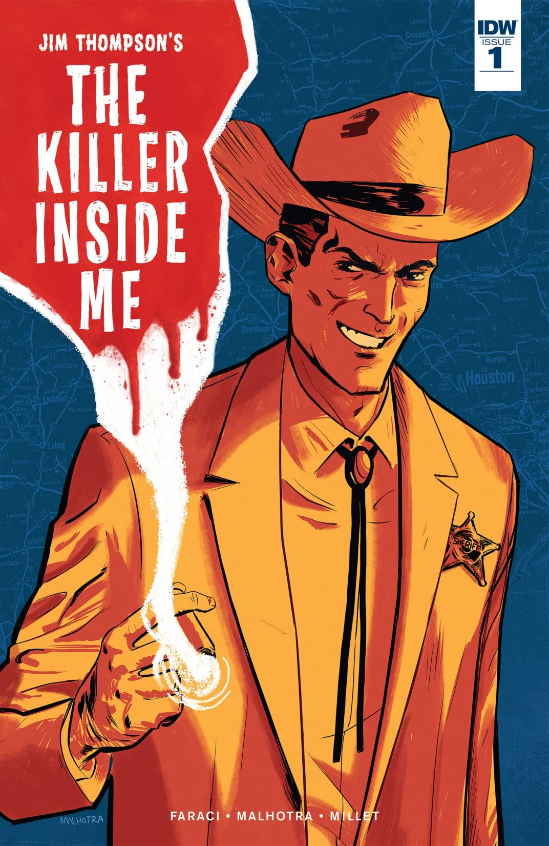 Jim Thompson's The Killer Inside Me #1 (of 5)