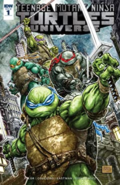 Teenage Mutant Ninja Turtles Universe #1