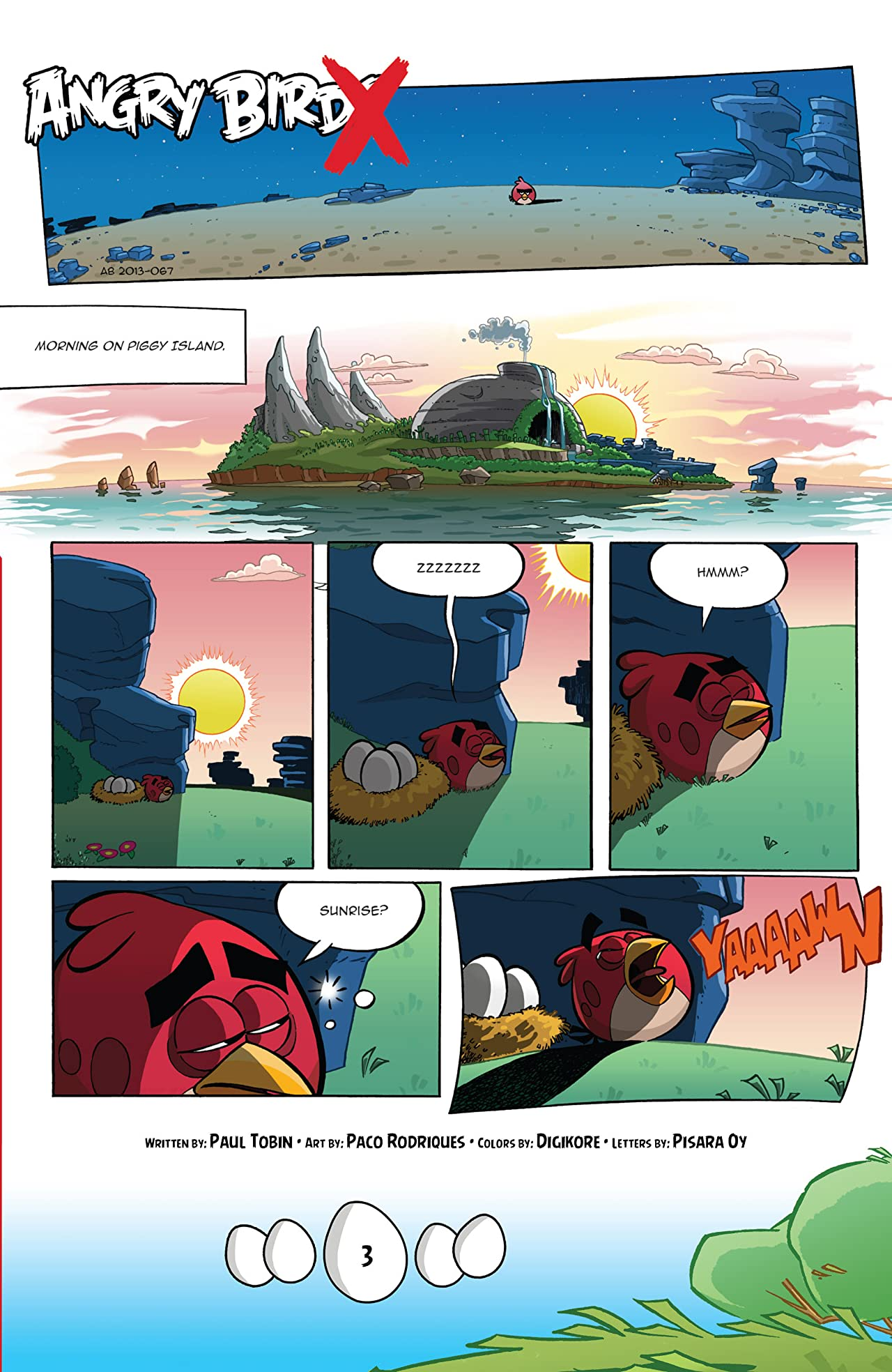 Angry Birds Comics Vol. 4: Fly Off The Handle