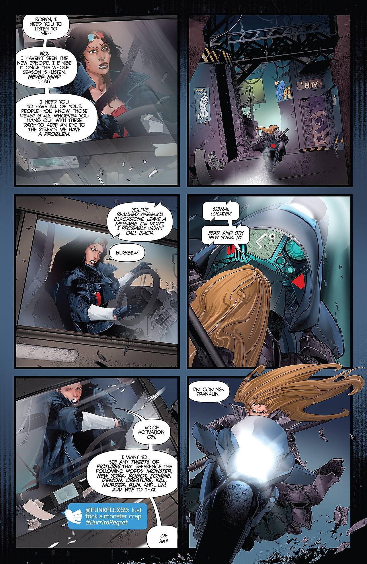Van Helsing vs. Frankenstein #4