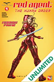 Red Agent: The Human Order #1