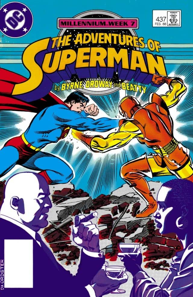Adventures of Superman (1986-2006) #437