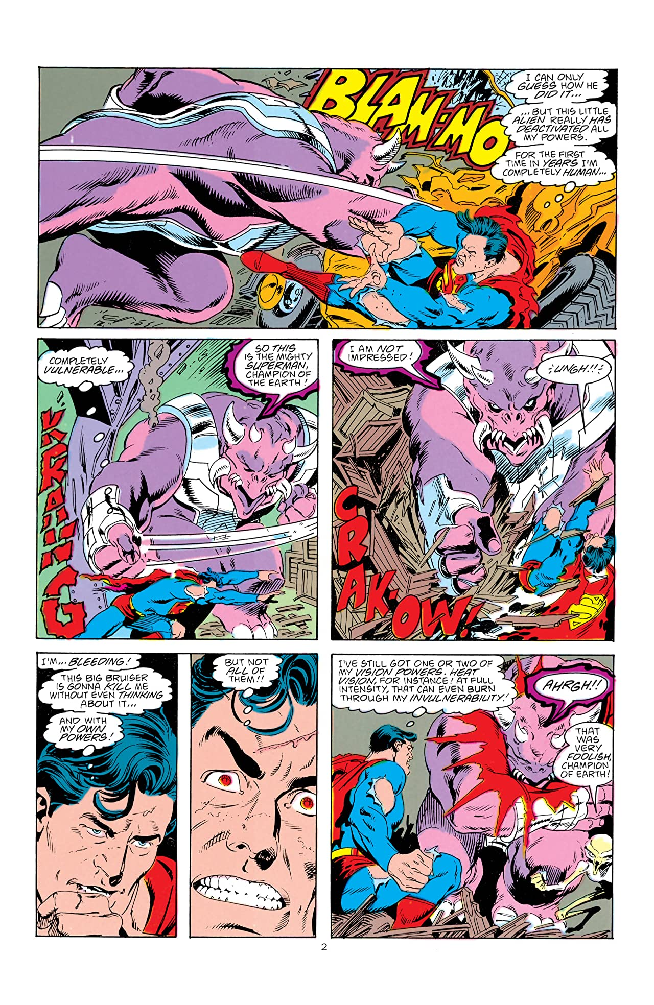 Adventures of Superman (1986-2006) #442