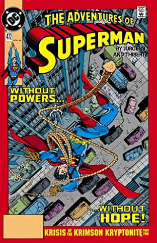 Adventures of Superman (1986-2006) #472
