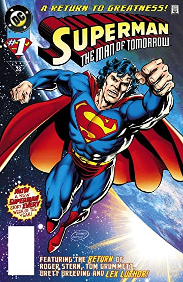Superman: The Man of Tomorrow (1995-1999) #1