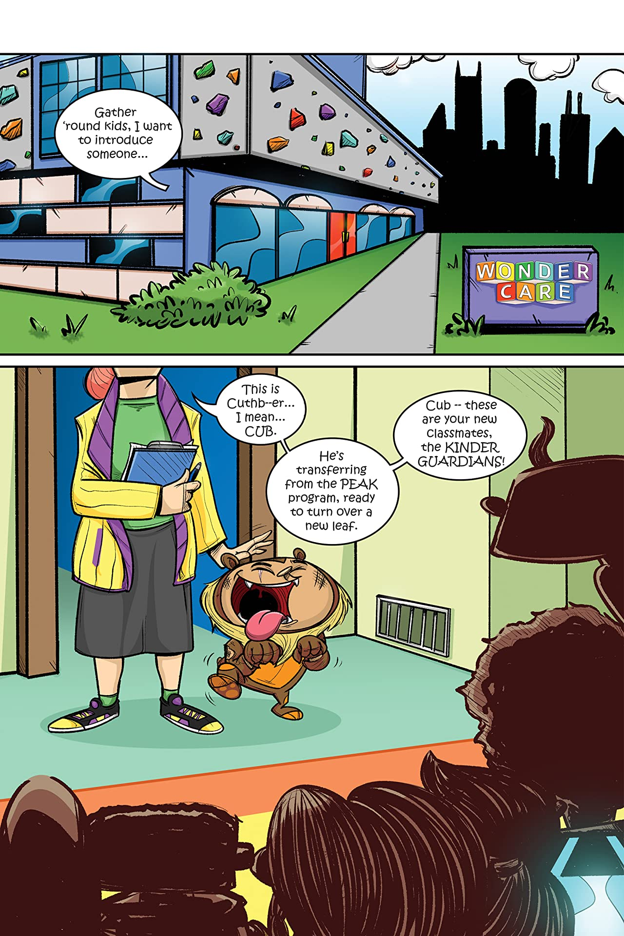 Wonder Care Presents: The Kinder Guardians #4