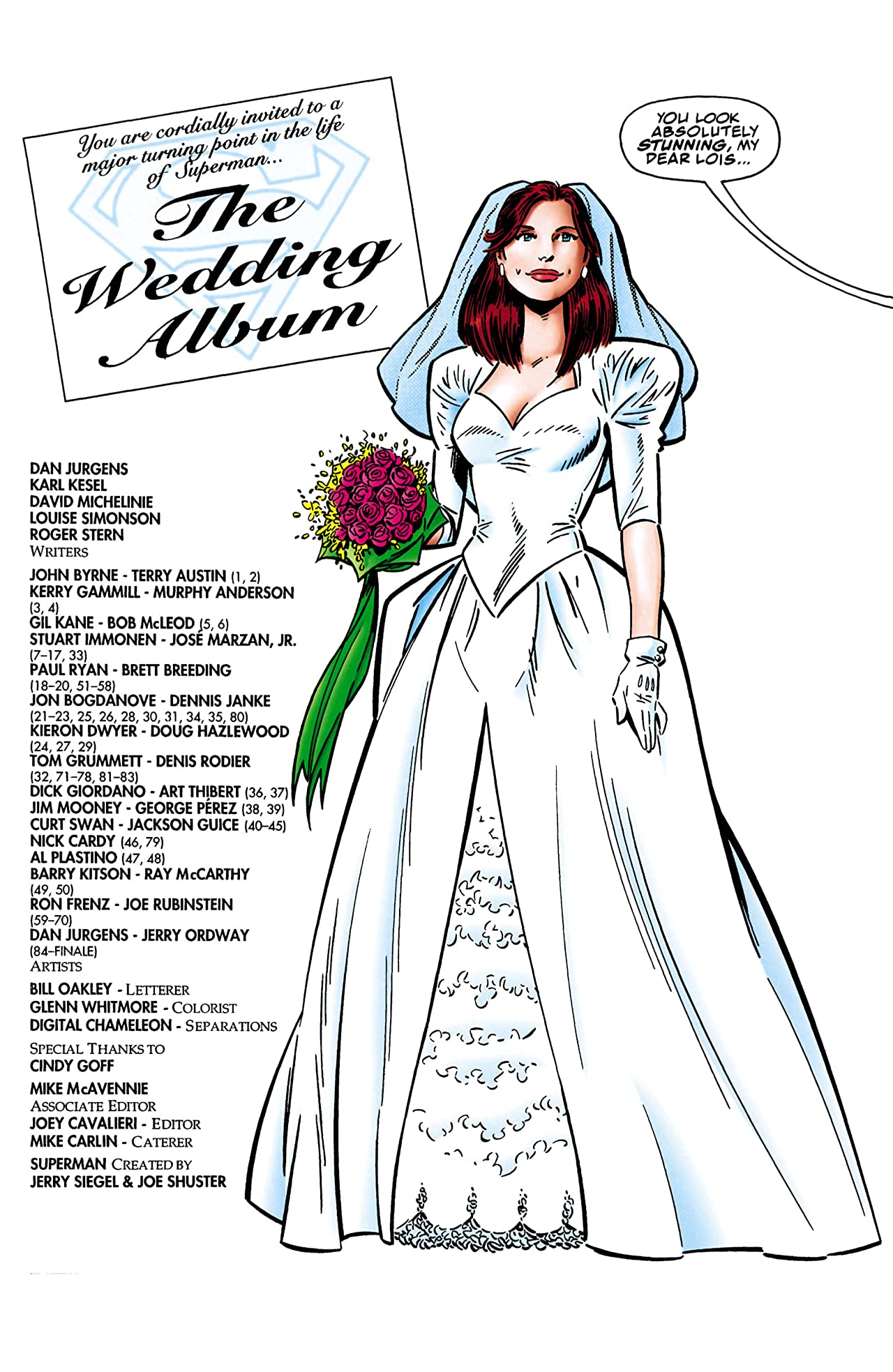 Superman: The Wedding Album #1
