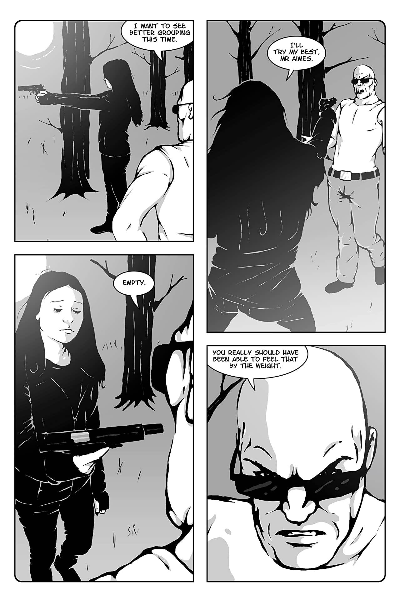Hollow Girl #4