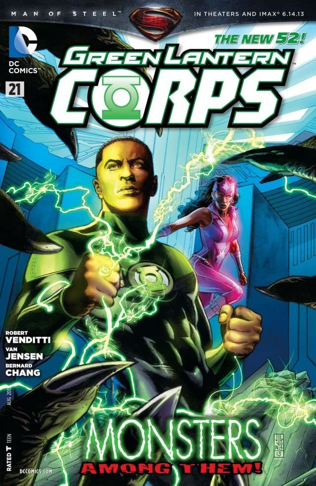 Green Lantern Corps (2011-2015) #21