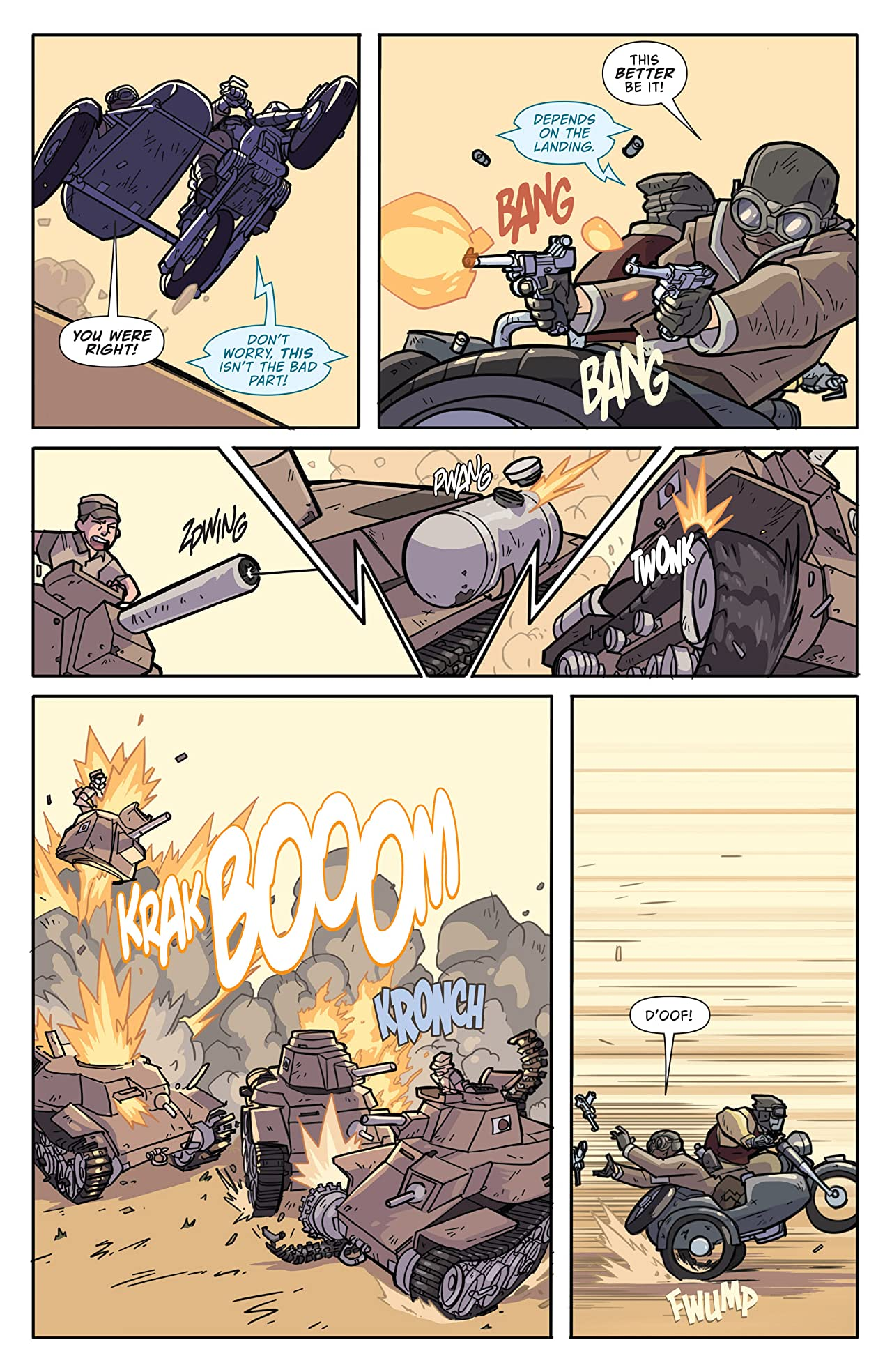 Atomic Robo and the Temple of Od No.1