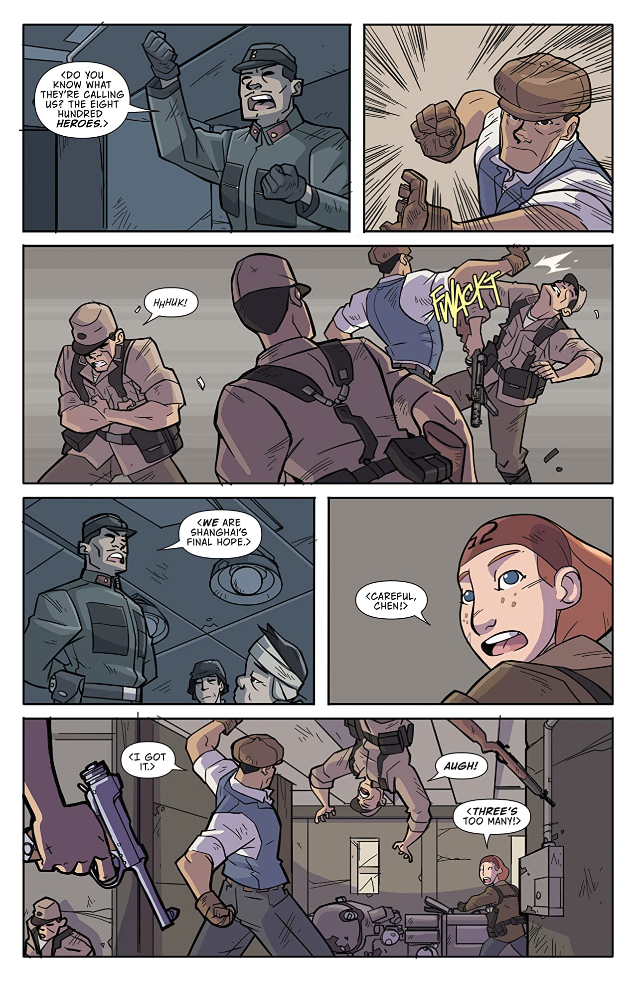 Atomic Robo and the Temple of Od #2