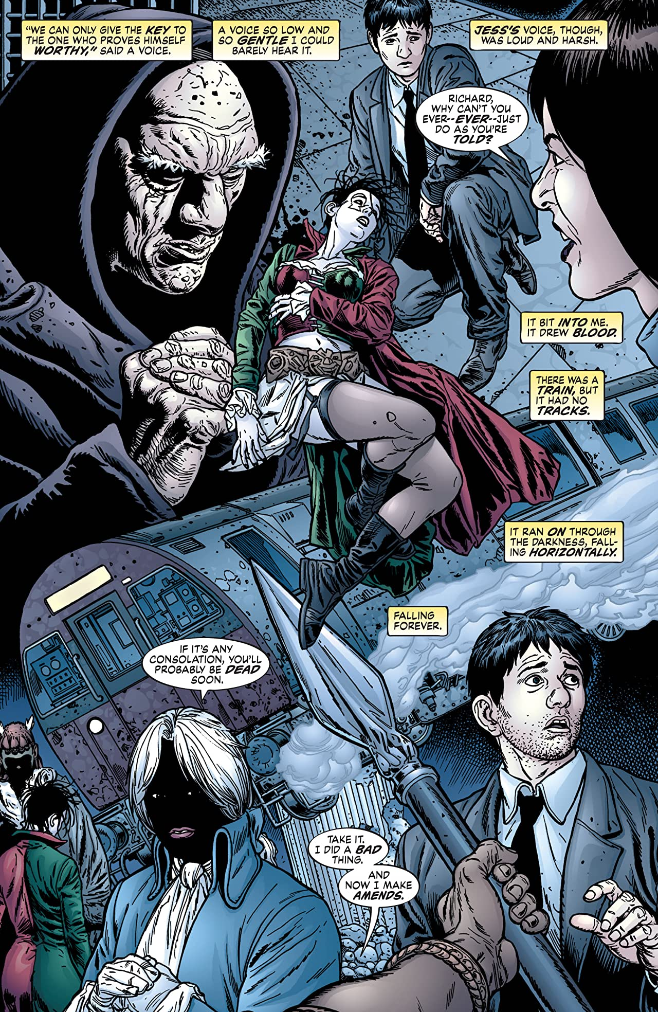 Neil Gaiman's Neverwhere #4 (of 9)