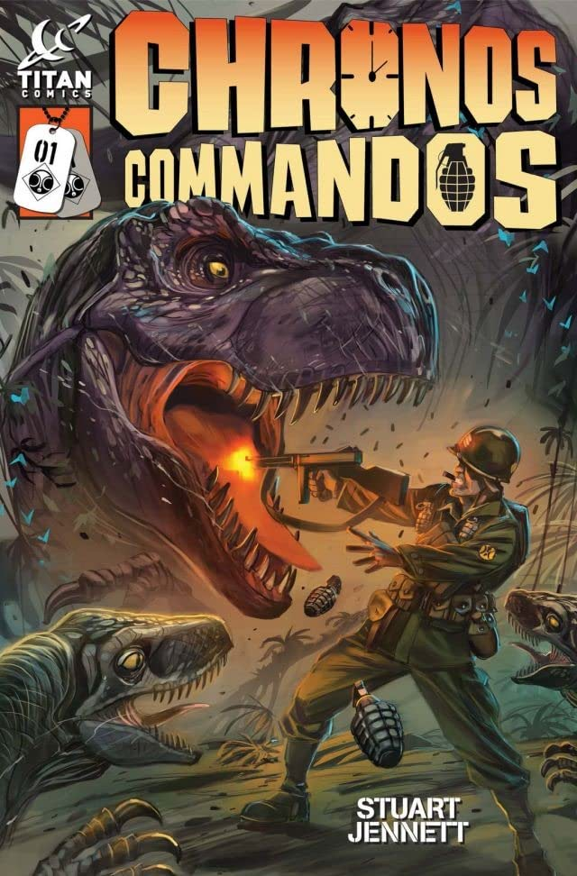 Chronos Commandos: Dawn Patrol #1 (of 5)