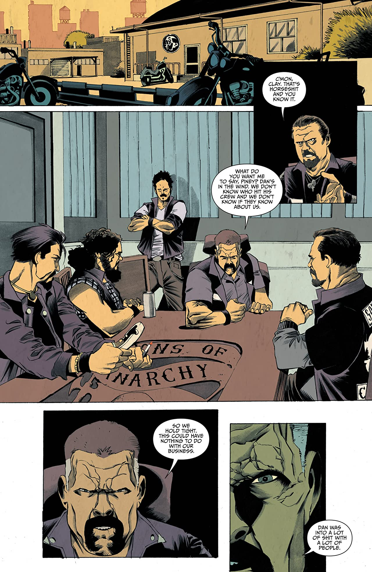 Sons of Anarchy: Redwood Original #3