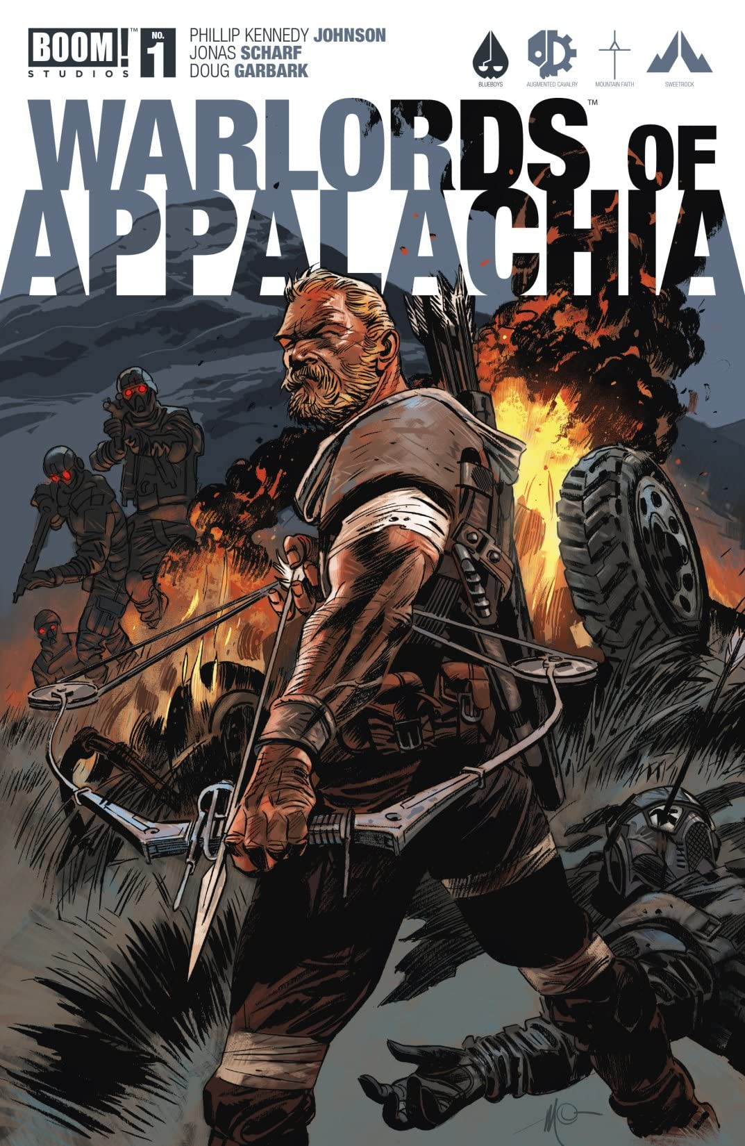 Warlords of Appalachia #1 (of 4)